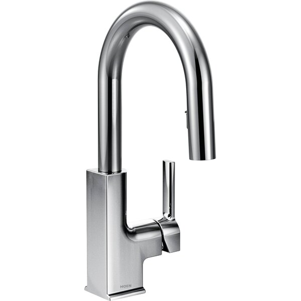STo Pull Down Bar Faucet with Reflex System by Moen