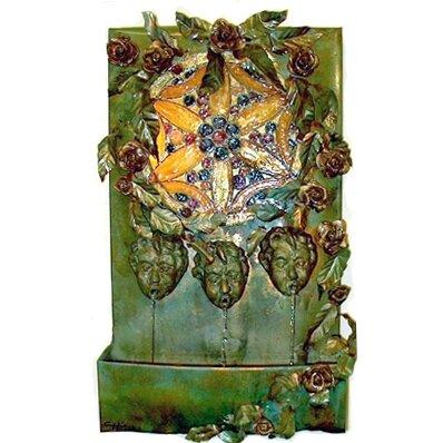 Cherub Copper/Metal Fountain by Harvey Gallery