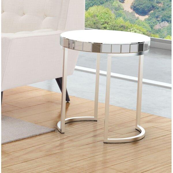 Tarik End Table by Orren Ellis