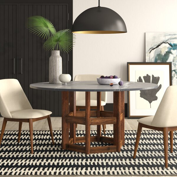 #2 Dahlquist Dining Table By Mercury Row Coupon