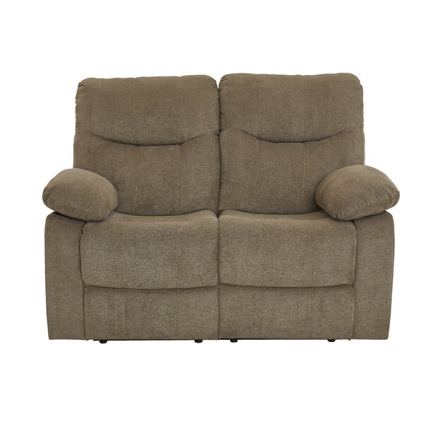 Get New Rollison Reclining Loveseat by Charlton Home by Charlton Home