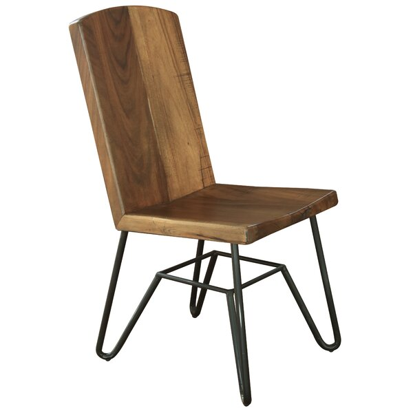 Marinez Solid Wood Dining Chair by Union Rustic