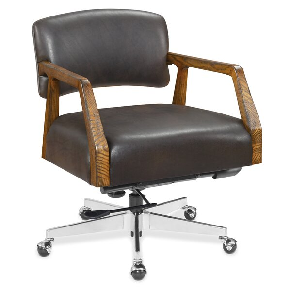 Mason Genuine Leather Office Chair by Hooker Furniture