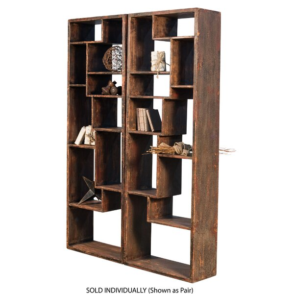 Mcmahan Geometric Bookcase By Brayden Studio
