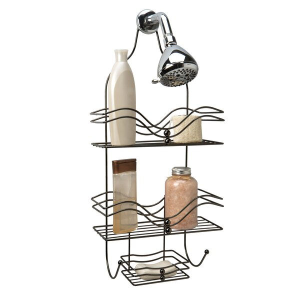 Yucca Valley Ocean Design Shower Caddy by Laurel Foundry Modern Farmhouse