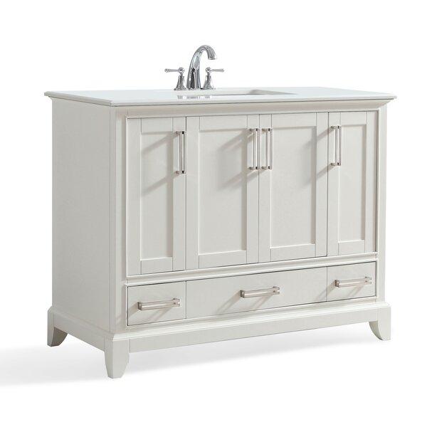 Elise 43 Single Bathroom Vanity Set by Simpli Home