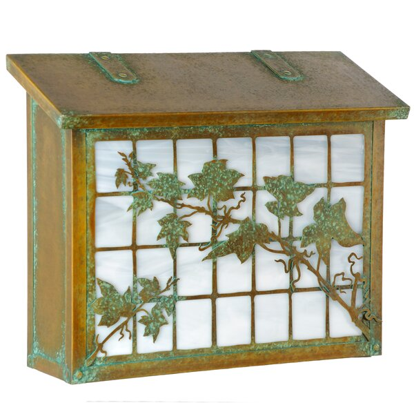 English Ivy Wall Mounted Mailbox by America's Finest Lighting Company