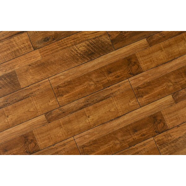 Steve 8 x 48 x 12mm Oak Laminate Flooring in Rustic Sierra by Serradon
