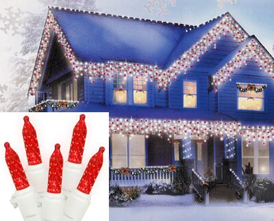 70 Icicle Christmas Light (Set of 70) by Vickerman