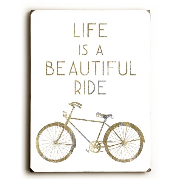 Gilded Hipster Bicycle Graphic Art by Artehouse LLC