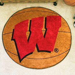 NCAA University of Wisconsin Basketball Mat by FANMATS