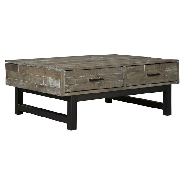 Klakke Lift Top Sled Coffee Table With Storage By Gracie Oaks