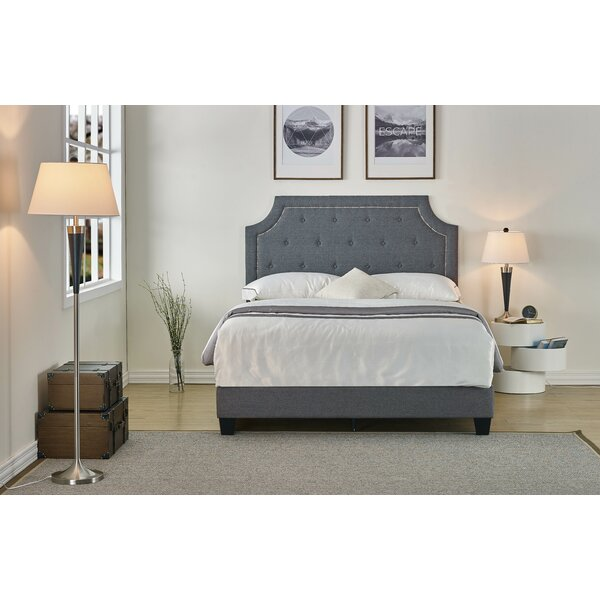 Heyworth Upholstered Standard Bed by Winston Porter