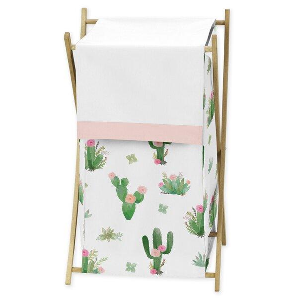Cactus Floral Laundry Hamper by Sweet Jojo Designs