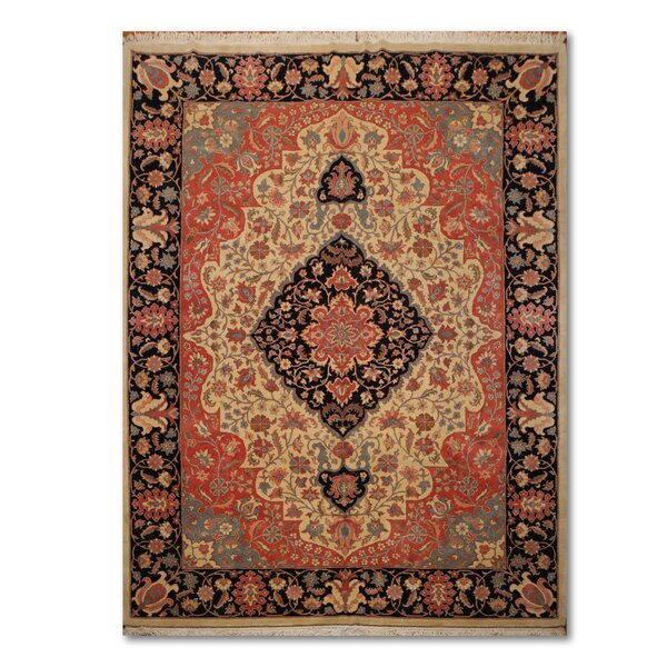 One-of-a-Kind Esmont Traditional Persian Hand-Knotted 9' x 11'10
