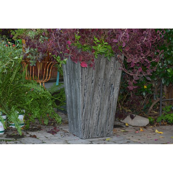 Tapered Driftwood Pot Planter by MPG Planters