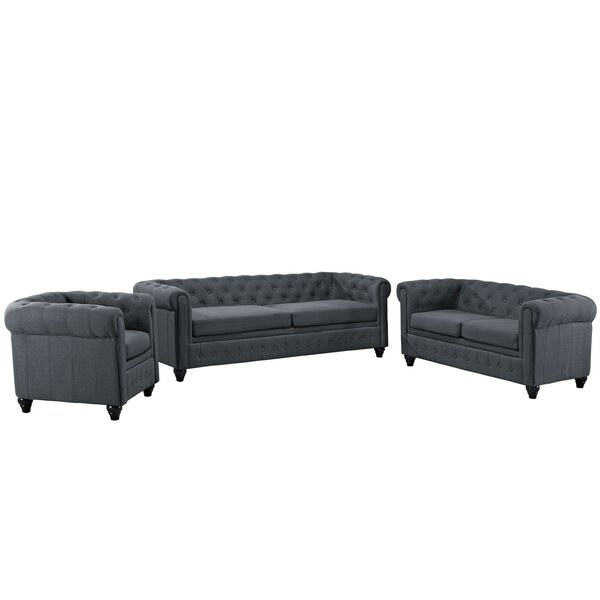 Earl 3 Piece Living Room Set By Modway Amazing