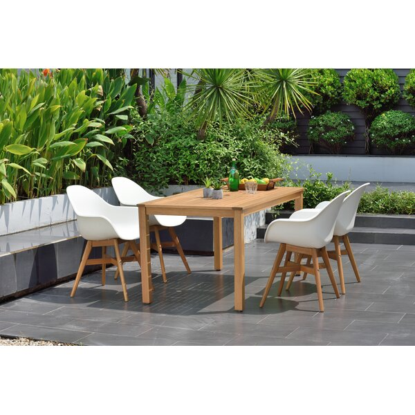 Onamia 5 Piece Dining Set (Set of 5) by Wrought Studio