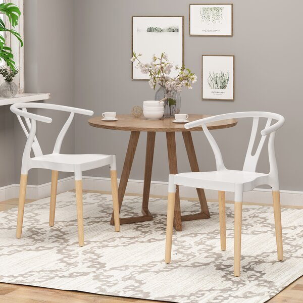 Ana Solid Wood Dining Chair (Set of 2) by Corrigan Studio