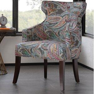 Marlborough Notch Wingback Chair by Red Barrel Studio