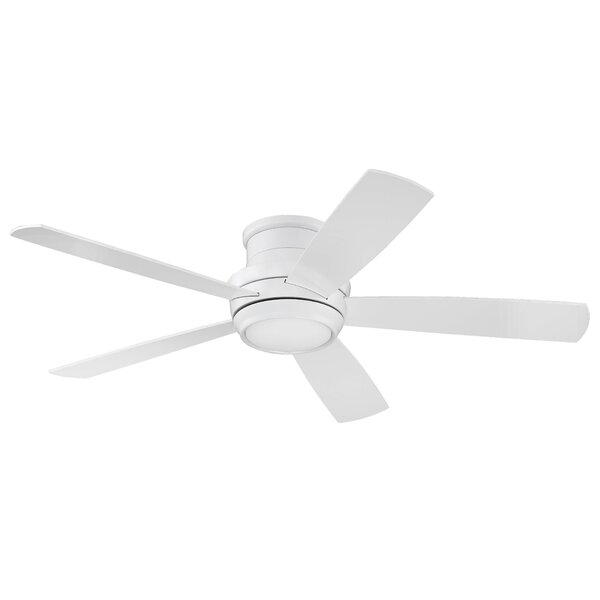 52 Cedarton Hugger 5 Blade Ceiling Fan with Remote by Latitude Run