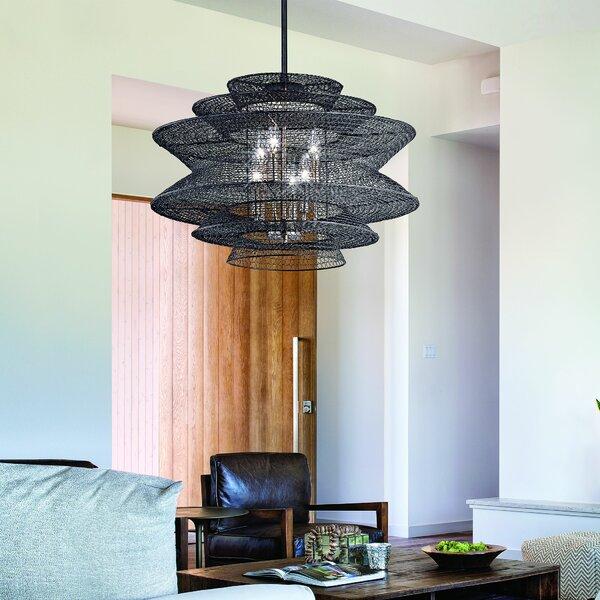 Lindale 6-Light Unique / Statement Geometric Chandelier By Brayden Studio