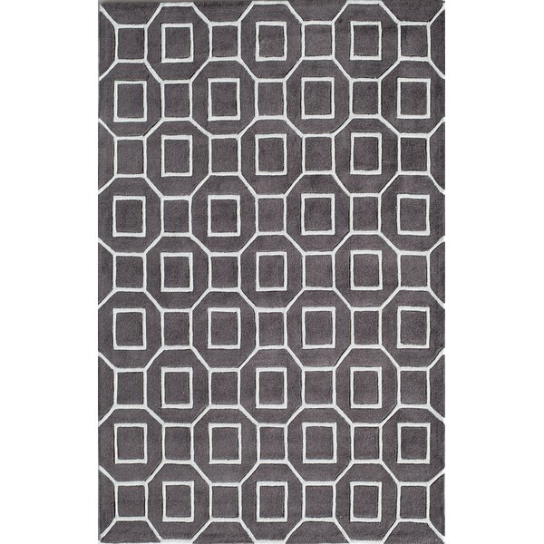 Hand-Tufted Grey Area Rug by The Conestoga Trading Co.