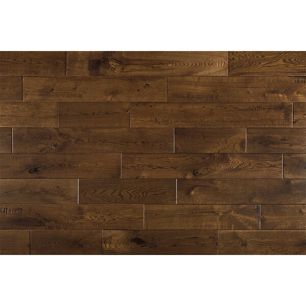 Celeste French 6 Solid Oak Hardwood Flooring in Tobacco by Welles Hardwood