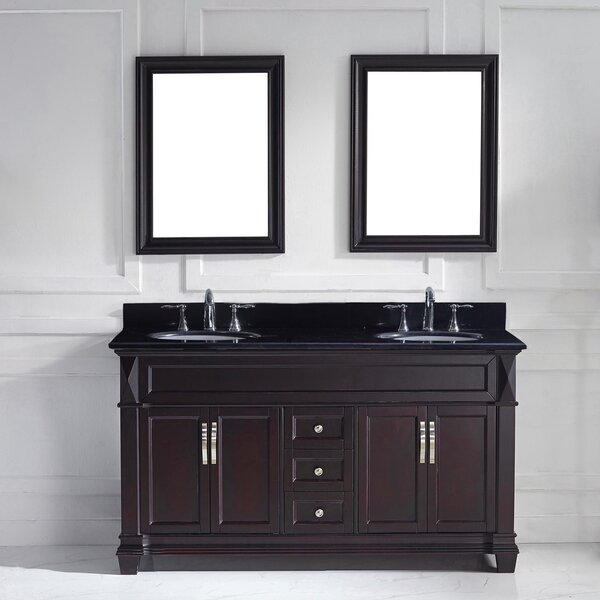 Kace 61 Double Bathroom Vanity Set by Darby Home Co
