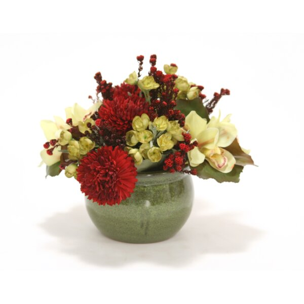 Mixed Centerpiece in Planter by Distinctive Designs