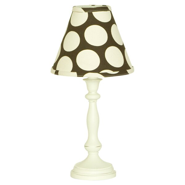 Raspberry Dot Table 18 Table Lamp by Cotton Tale