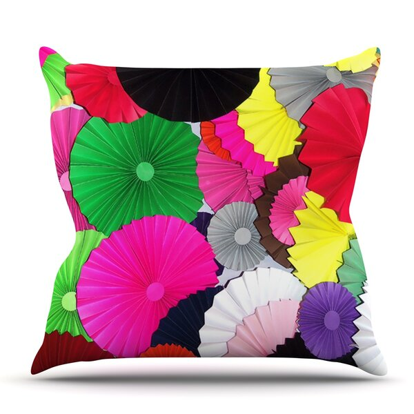 Tempting by Heidi Jennings Outdoor Throw Pillow by East Urban Home