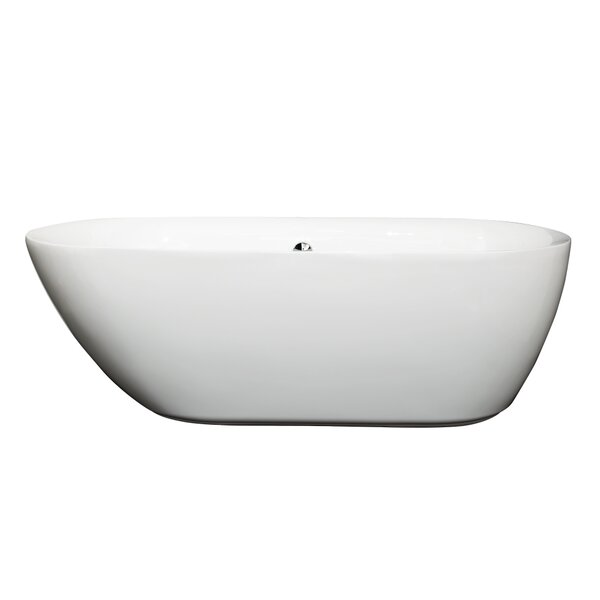 Melissa 65 x 31.25 Soaking Bathtub by Wyndham Collection
