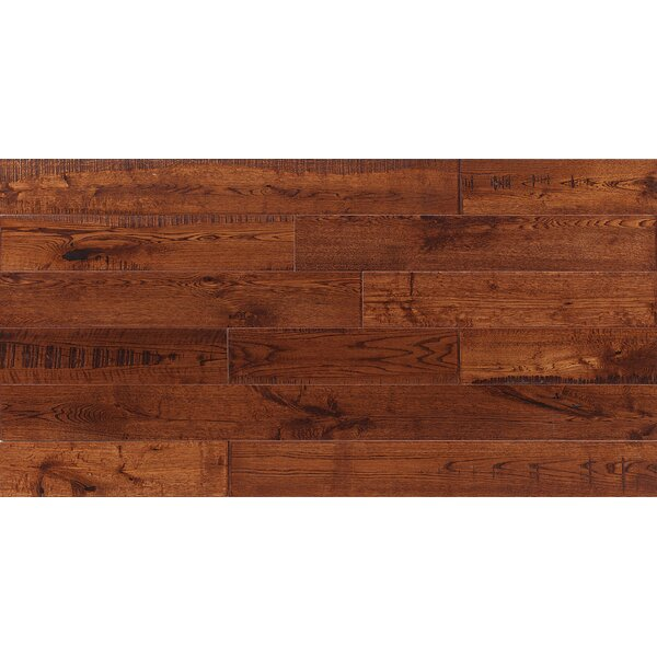 Jasmine 6 Engineered Oak Hardwood Flooring in Distressed Whiskey by Welles Hardwood