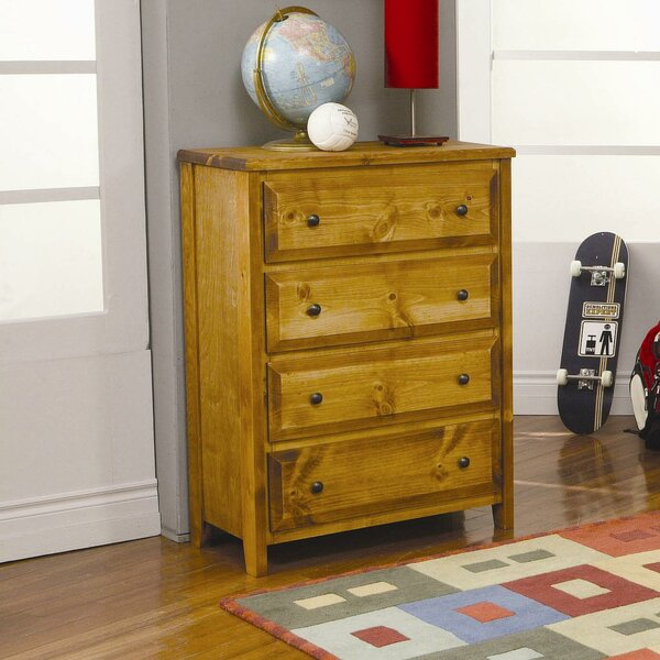 San Bernardino 4 Drawer Chest by Wildon Home®