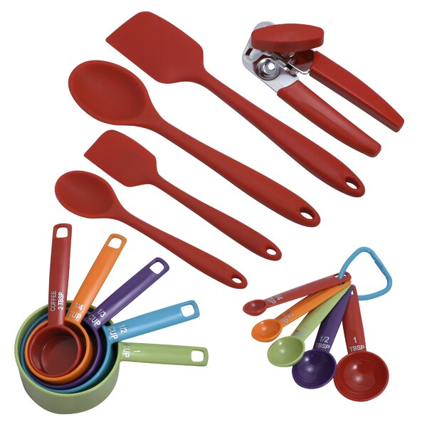 16-Piece Colorworks Kitchen Utensil Set by Farberware