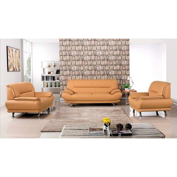 Kremer 3 Piece Living Room Set By Orren Ellis