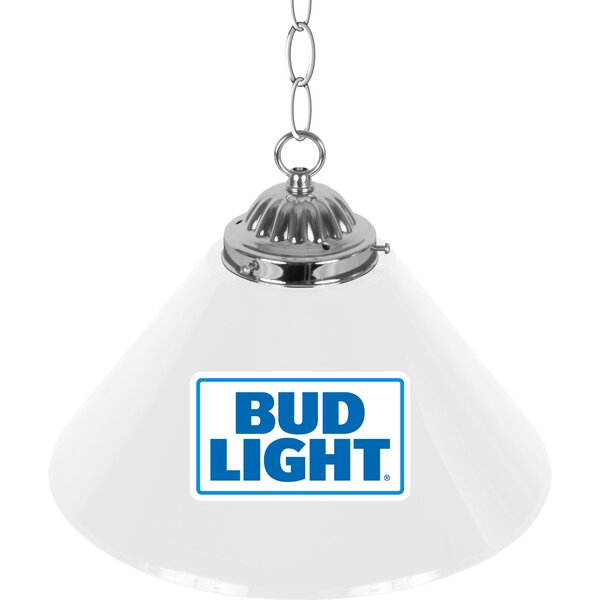 Bud Light Pool Table Lights Pendant by Trademark Global