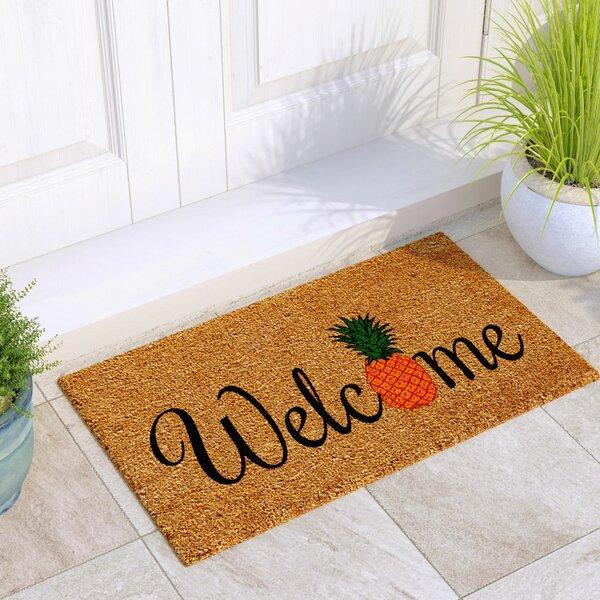 Alanis Pineapple Fun Doormat by Beachcrest Home