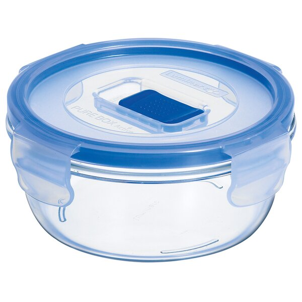 Pure Box Active Round 13.6 Oz. Food Storage Container (Set of 6) by Luminarc