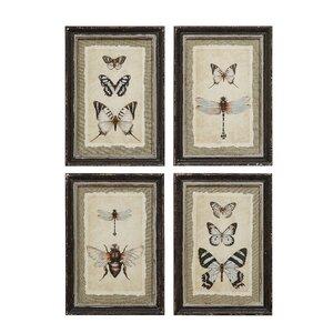 Butterfly & Bee Wall Art by Birch Lane™