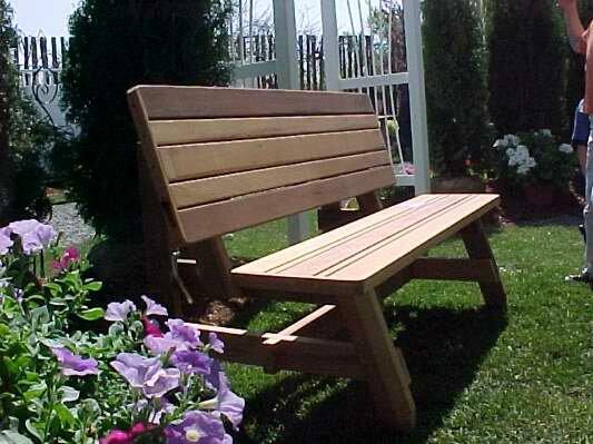 Callao Convertible Garden Bench by August Grove
