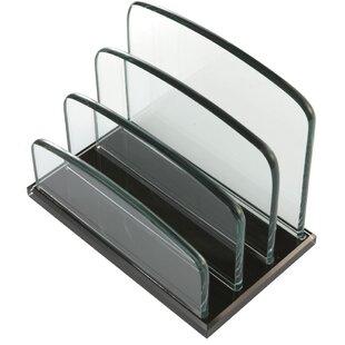 Valeria Vertical Glass Sorter (Set of 4) by Rebrilliant