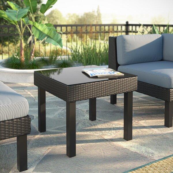 Zoer Side Table by Breakwater Bay