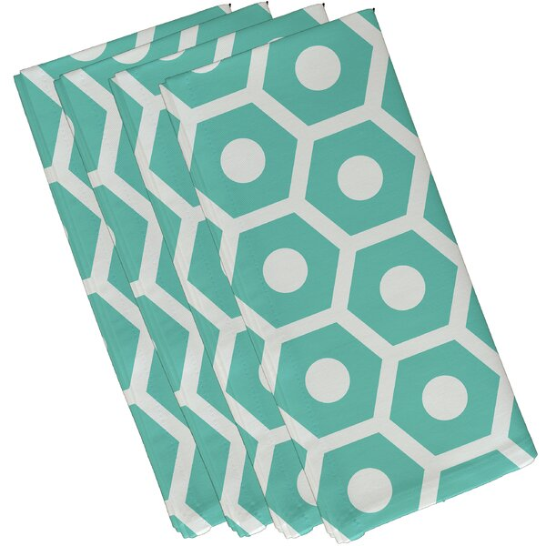 Geometric Decorative Napkin (Set of 4) by e by design