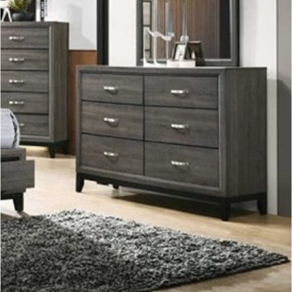 Lauria 6 Drawer Double Dresser By Ivy Bronx by Ivy Bronx Find