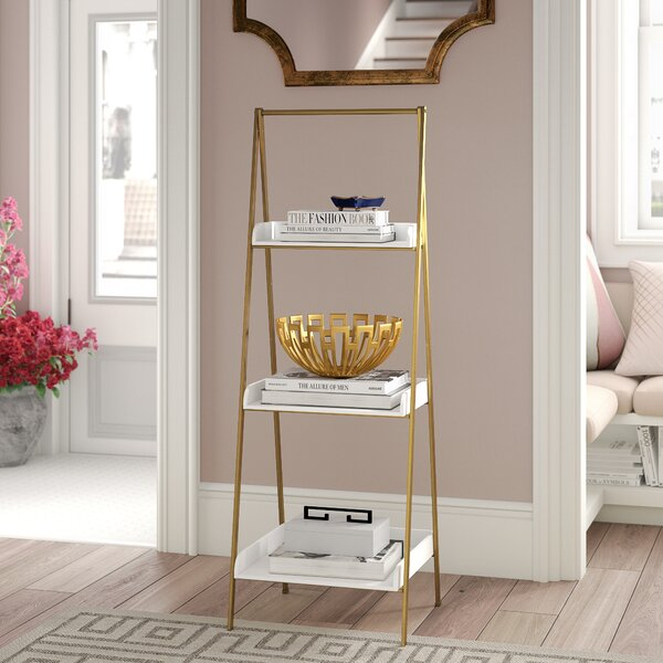Review Shangrila Ladder Bookcase