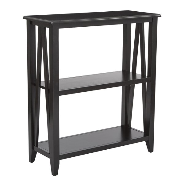 Whitbeck 2 Shelf Bookcase by Winston Porter