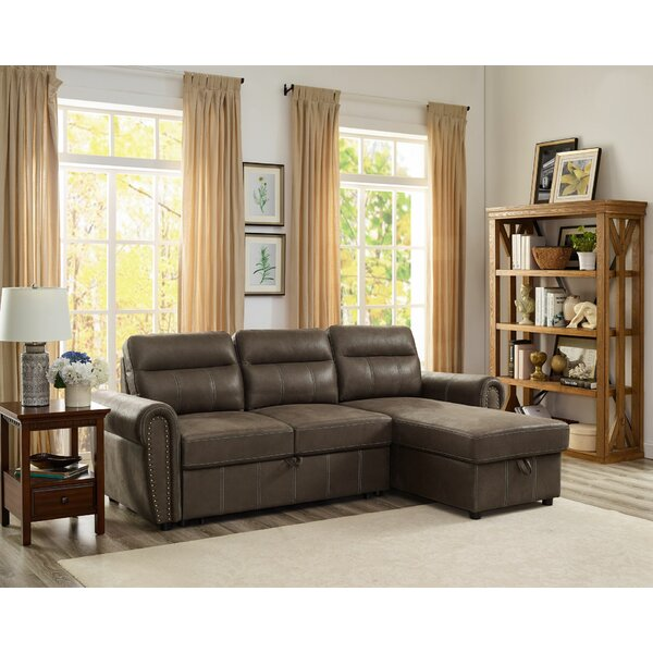 Acuff Right Hand Facing Sleeper Sectional By Red Barrel Studio