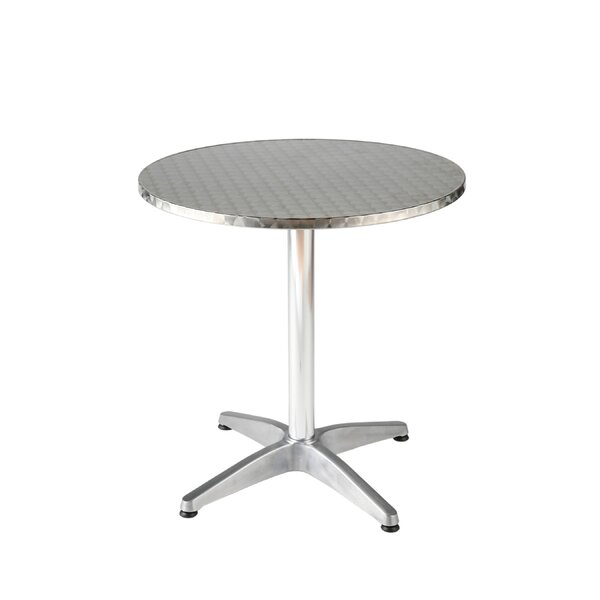 Barra Metal Bistro Table by Orren Ellis